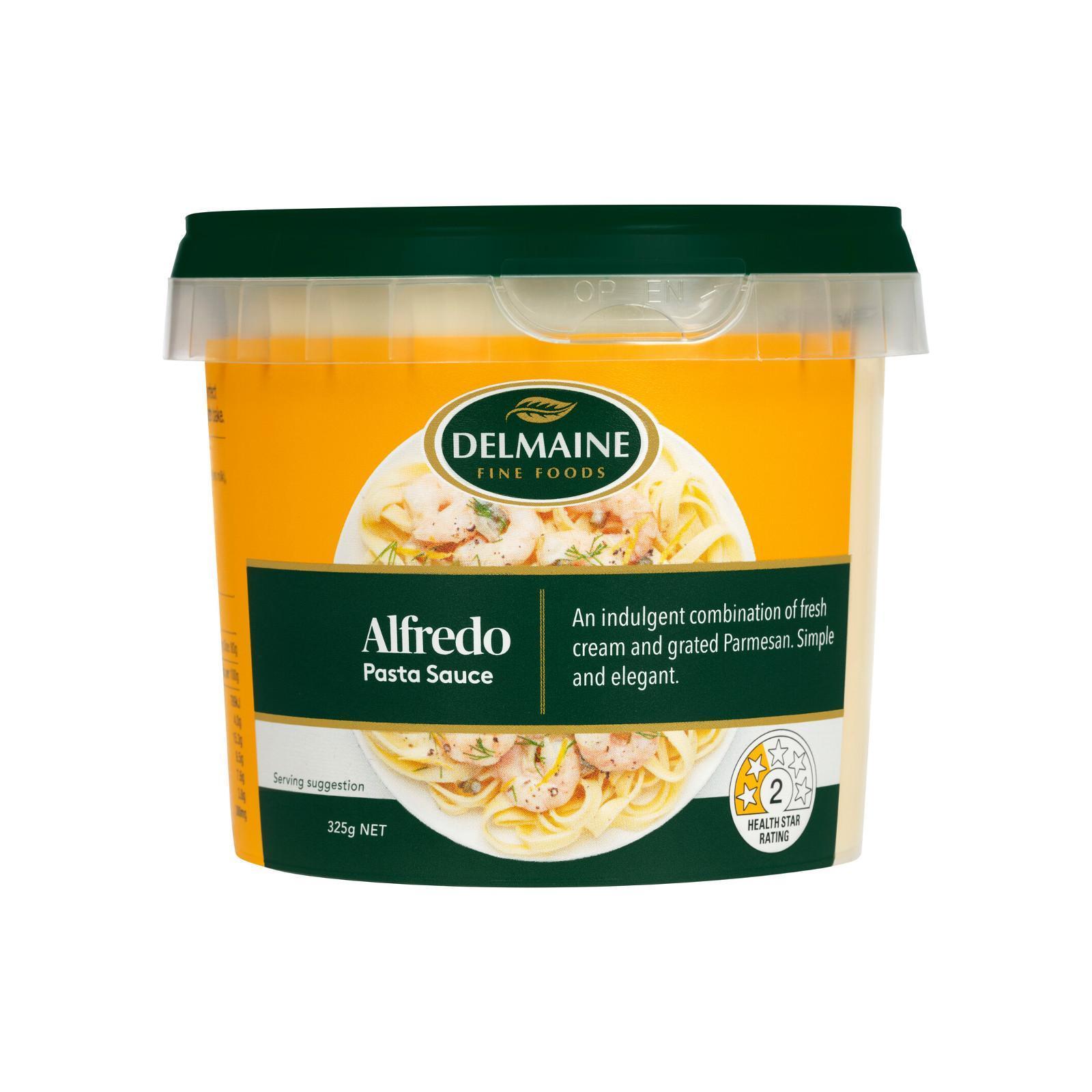 Delmaine Premium Alfredo Fresh Pasta Sauce