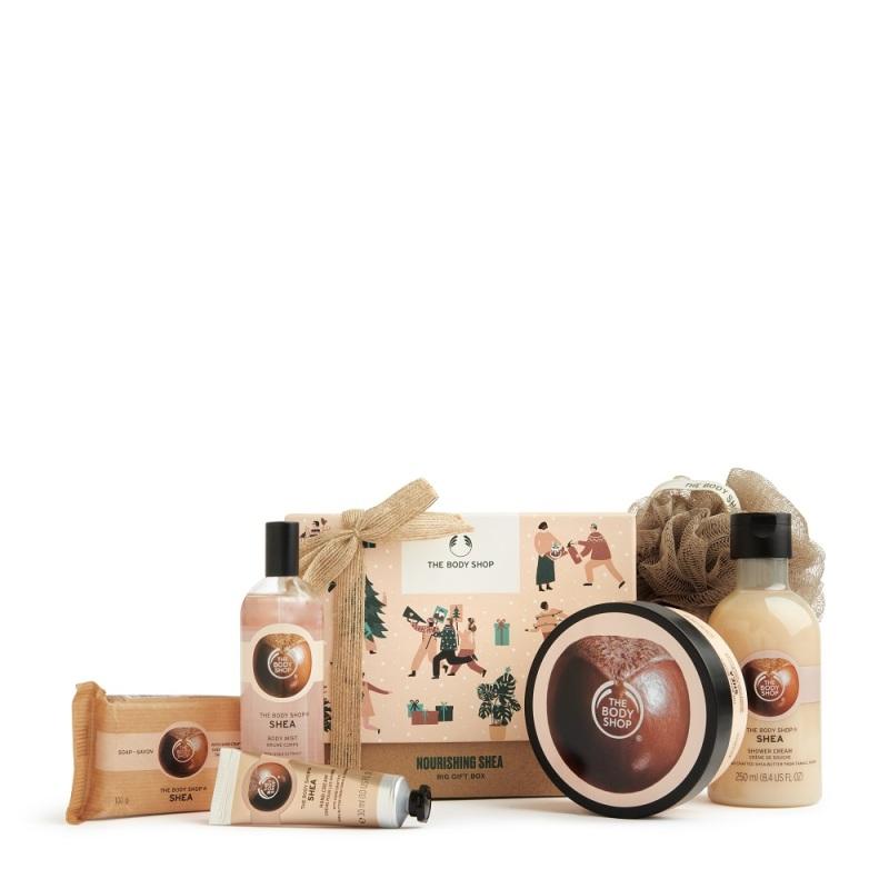 Buy The Body Shop Nourishing Shea Big Gift Box (Christmas Gift Set) Singapore