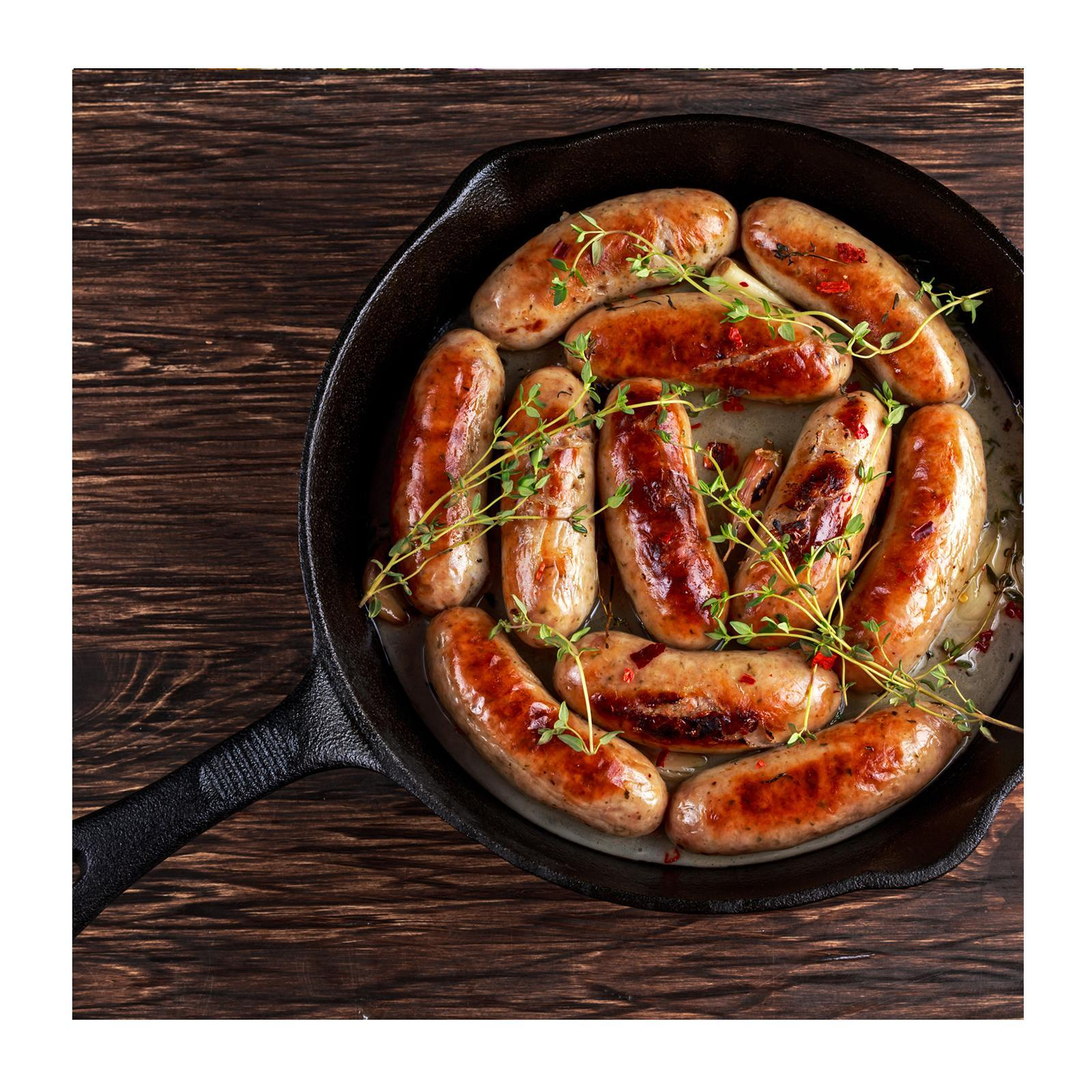 Sidecar Traditional Pork And Thyme Sausages - Frozen