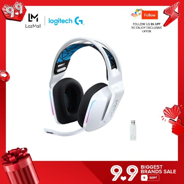Logitech G733 K/DA Lightspeed Wireless RGB Gaming Headphones KDA