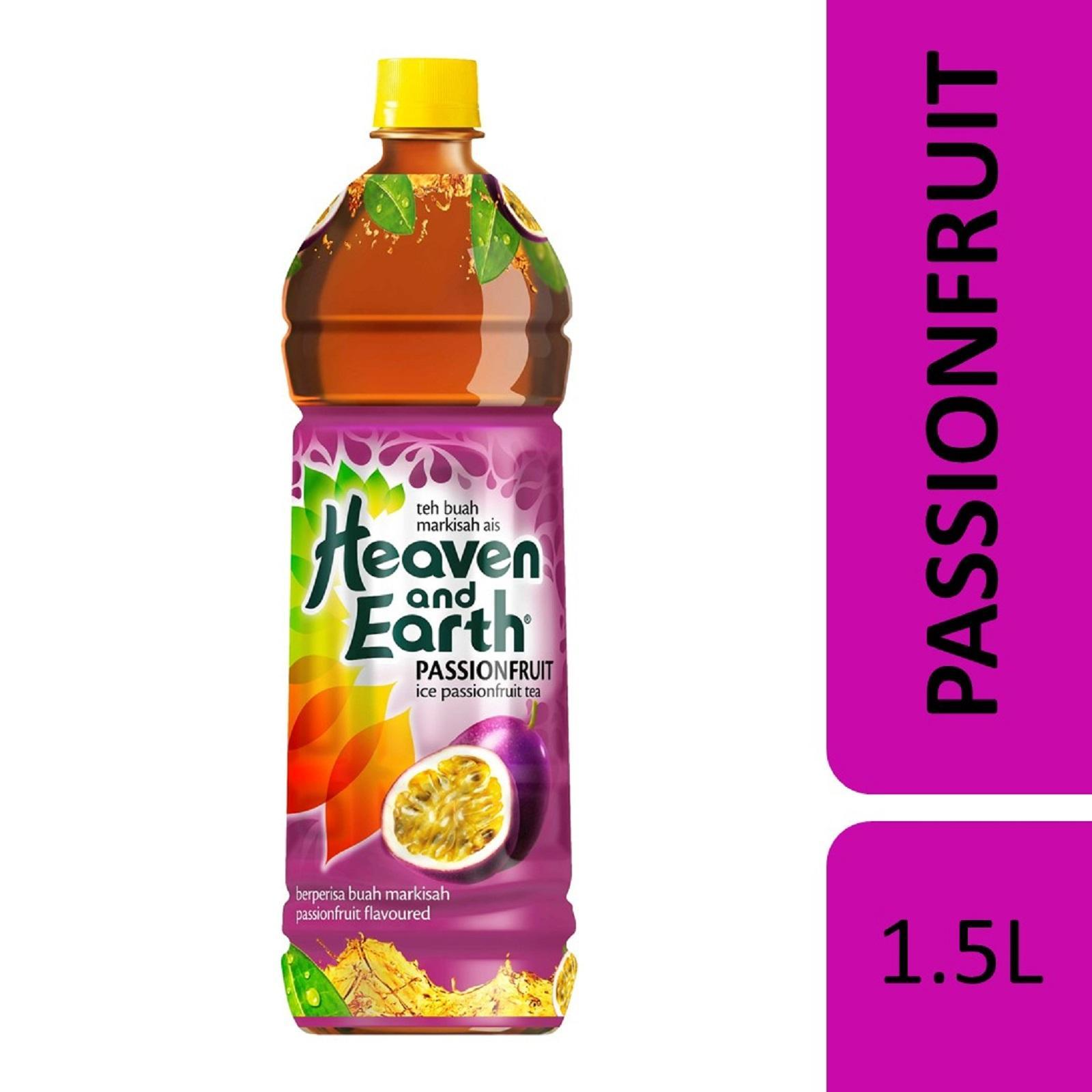Heaven And Earth Ice Passionfruit Tea By Redmart.