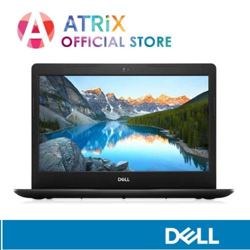 DELL Inspiron 3480-826412G-W10-Blk | 14.0 HD | i5-8265U | 4GB RAM (upgrade to 8GB RAM) | 1TB HDD | AMD Radeon 520 | 1Y Warranty