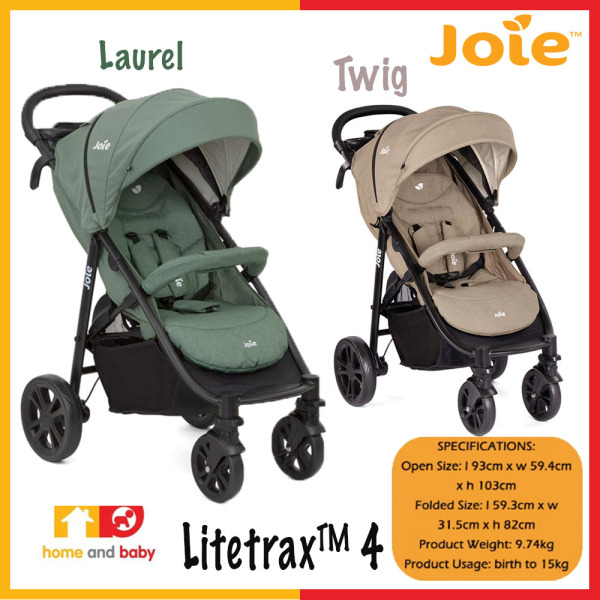 Joie Litetrax 4 (One Year Warranty) Singapore