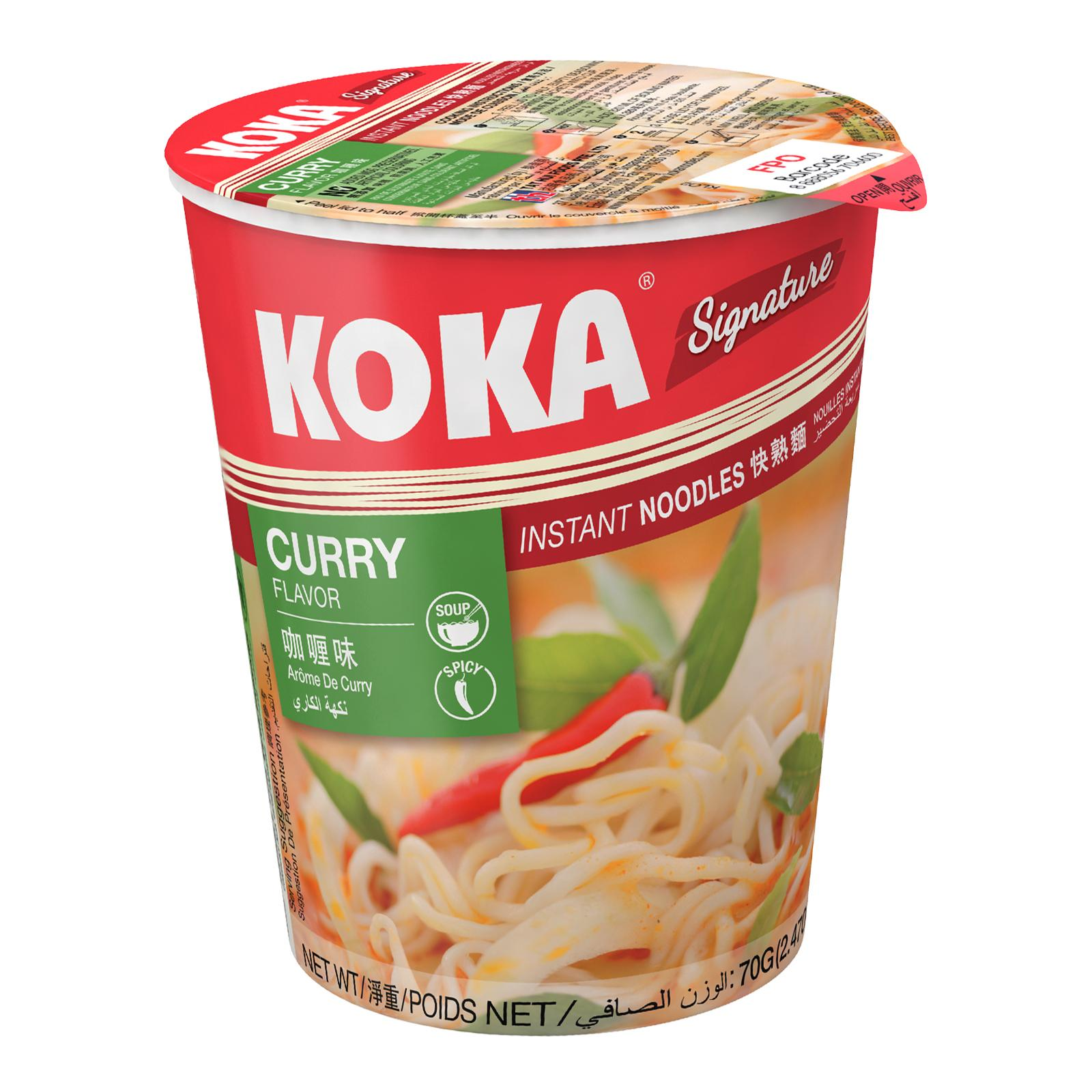 KOKA Signature Curry Cup Noodles 70g