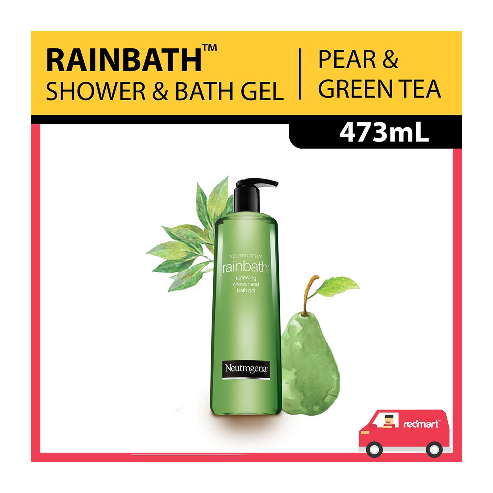 Neutrogena Rainbath Renewing Pear and Green Tea Shower and Bath Gel, 473ml