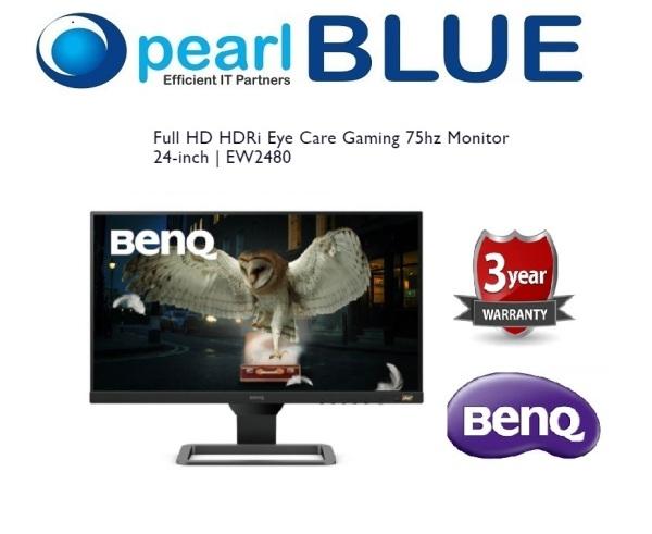 BenQ Full HD HDRi Eye Care Gaming 75hz Monitor 24-inch   EW2480