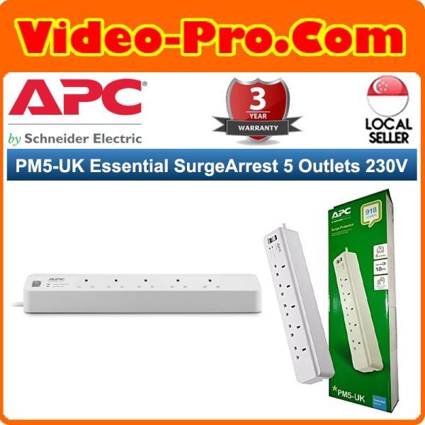 APC PM5-UK Essential SurgeArrest 5 Outlets 230V UK