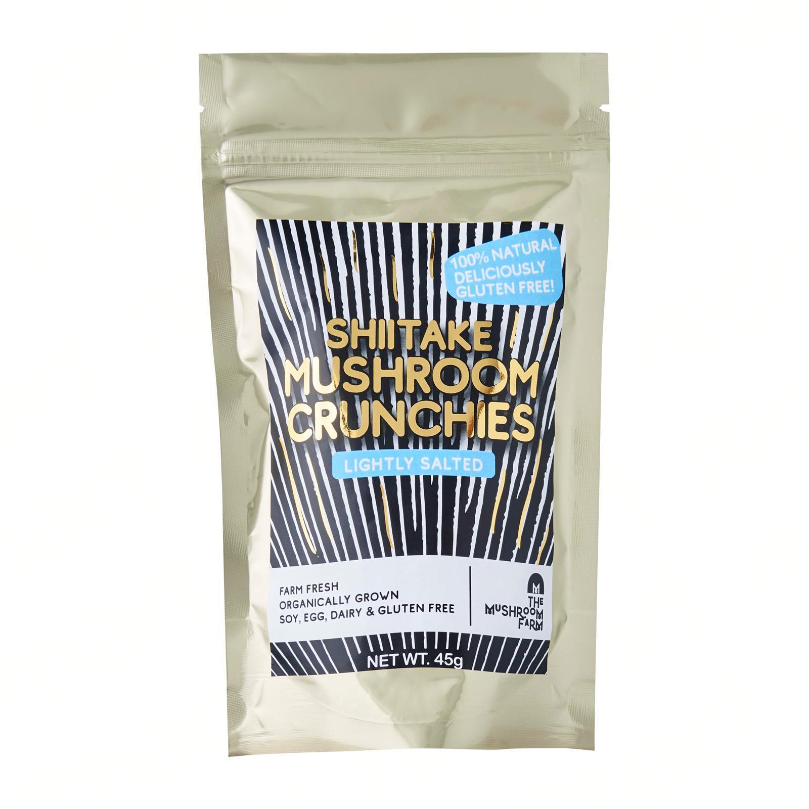 The Mushroom Farm Shiitake Mushroom Crunchies - Lightly Salted