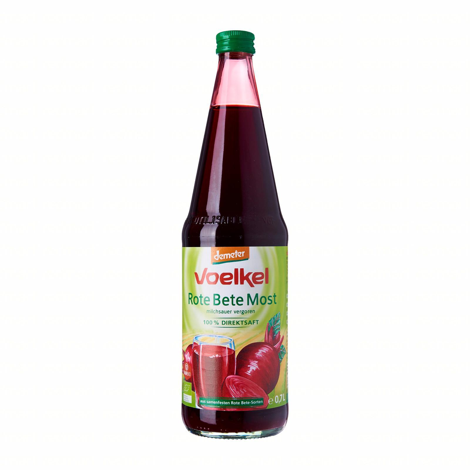 Voelkel Organic Lacto-Fermented Red Beetroot Juice