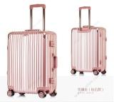 Cheap Aluminium Frame Luggage Rose