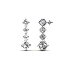 Price Amanda Earrings Crystals From Swarovski® Her Jewellery New