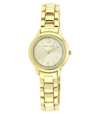 Price Anne Klein Ladies Gold Toned Metal Bracelet Watch Ak 1792Chgb Full Gold Bracelet Anne Klein Singapore