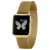 Apple Watch Band 38Mm Steel Magnetic Suction Ultra Thin Metal Stainless Steel Mesh Replacement Strap Buckle Type Wrist Band For Apple Watch Price Comparison