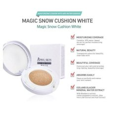Who Sells April Skin Magic Snow Cushion White 22 Korea Pink Beige