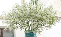 Artifical Baby S Breath Flowers 10 White Export Compare Prices
