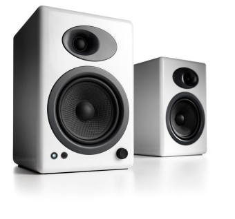 Audioengine A5 Powered Speakers White Official Product On Singapore