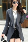 Low Price Autumn And Winter Fashion Long Section Irregular Woolen Jacket Coat Export