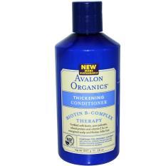 Price Comparison For Avalon Organics Biotin B Complex Therapy Thickening Conditioner 14 Fl Oz 400 Ml