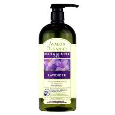Price Avalon Organics Lavender Bath And Shower Gel 32Oz Online Singapore