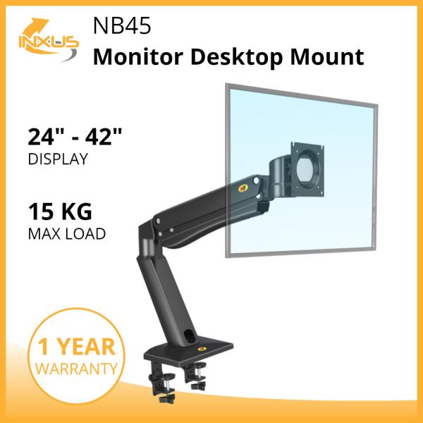 NB45 Monitor Desktop Mount / Monitor Arm Bracket / Single Monitor Desk Mount / International Vesa Compatible