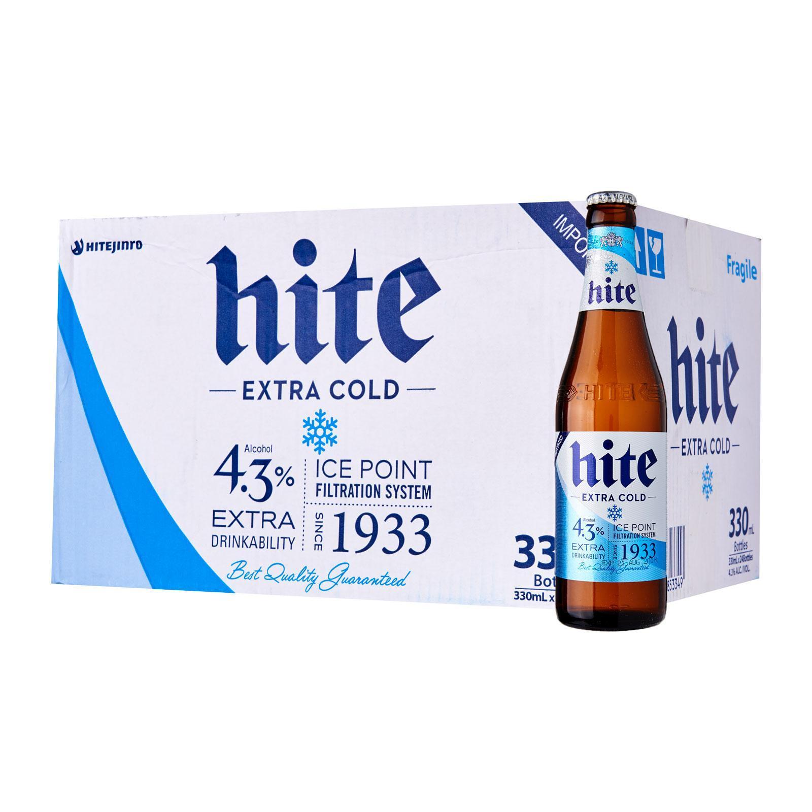 Hite Beer 24 X 330ml Bottle By Geonbae.