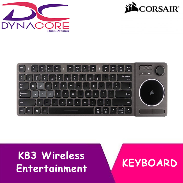 DYNACORE - CORSAIR K83 Wireless Entertainment Keyboard Singapore