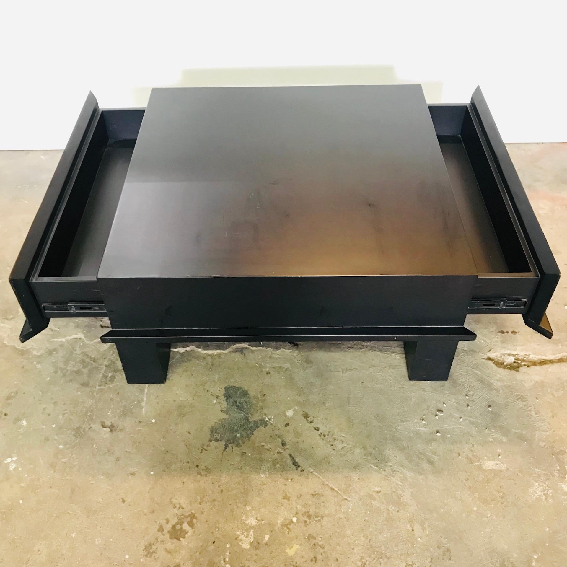 Nyatoh Wood Coffee Table, Wenge Stain (Display Model)