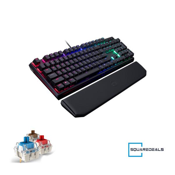 Cooler Master Masterkeys Mk750 RGB Mechanical Gaming Keyboard US All Models CoolerMaster Singapore