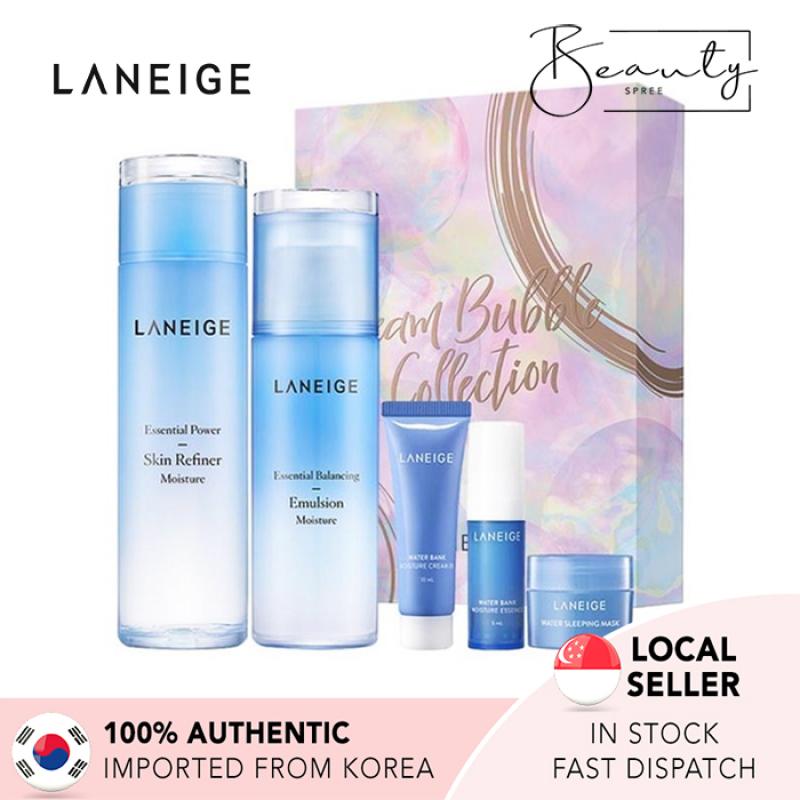 Buy [In Stock] LANEIGE Basic Duo Set Moisture - Dream Bubble Singapore