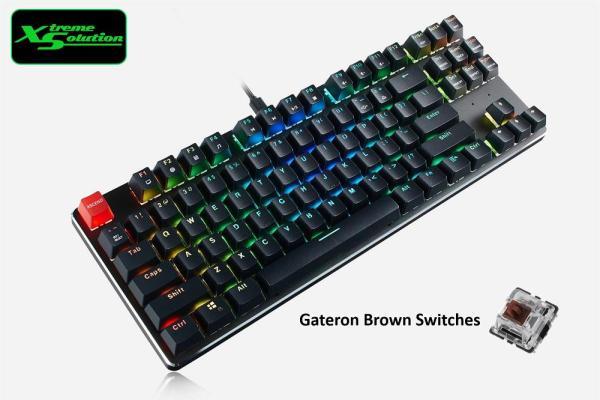The Glorious GMMK RGB Modular Mechanical Keyboard (Full Size / TKL / Compact 60%)
