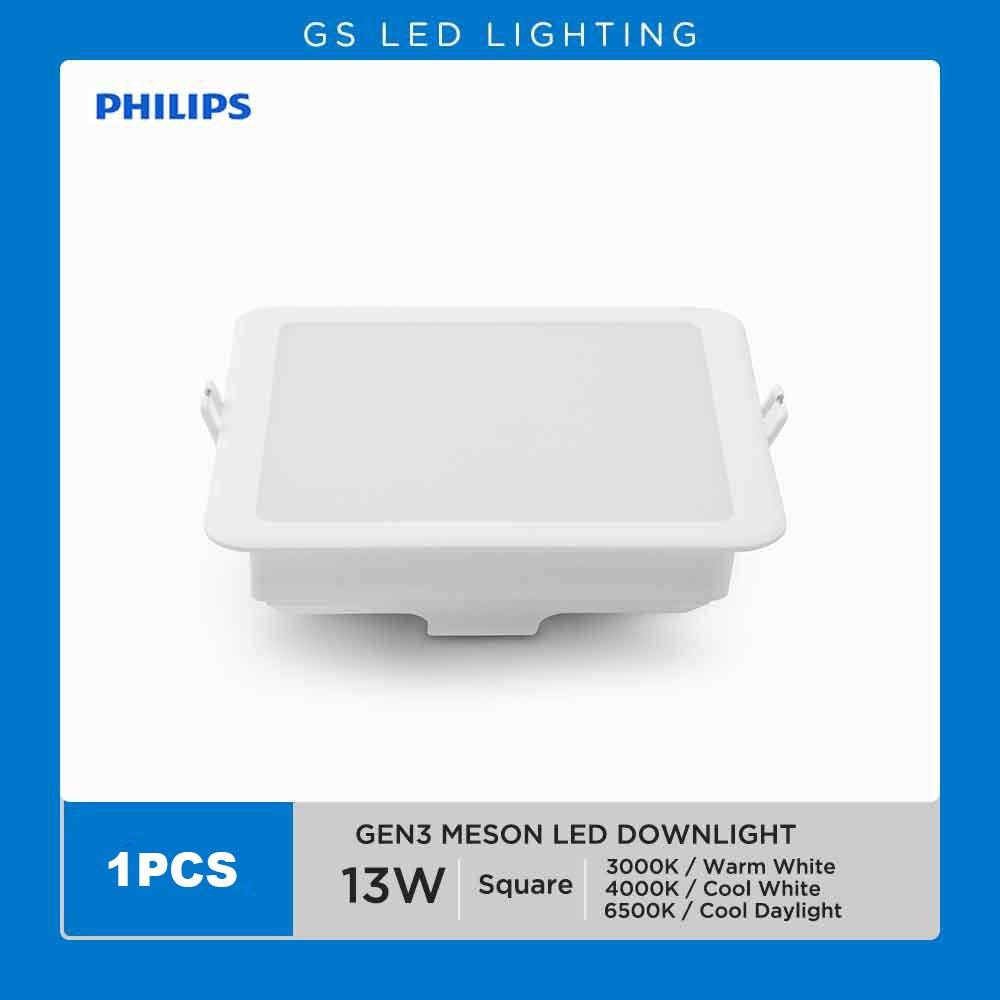 10 PHILIPS 59464 MESON GEN3 13W LED DOWNLIGHT 5  (ROUND/SQUARE)