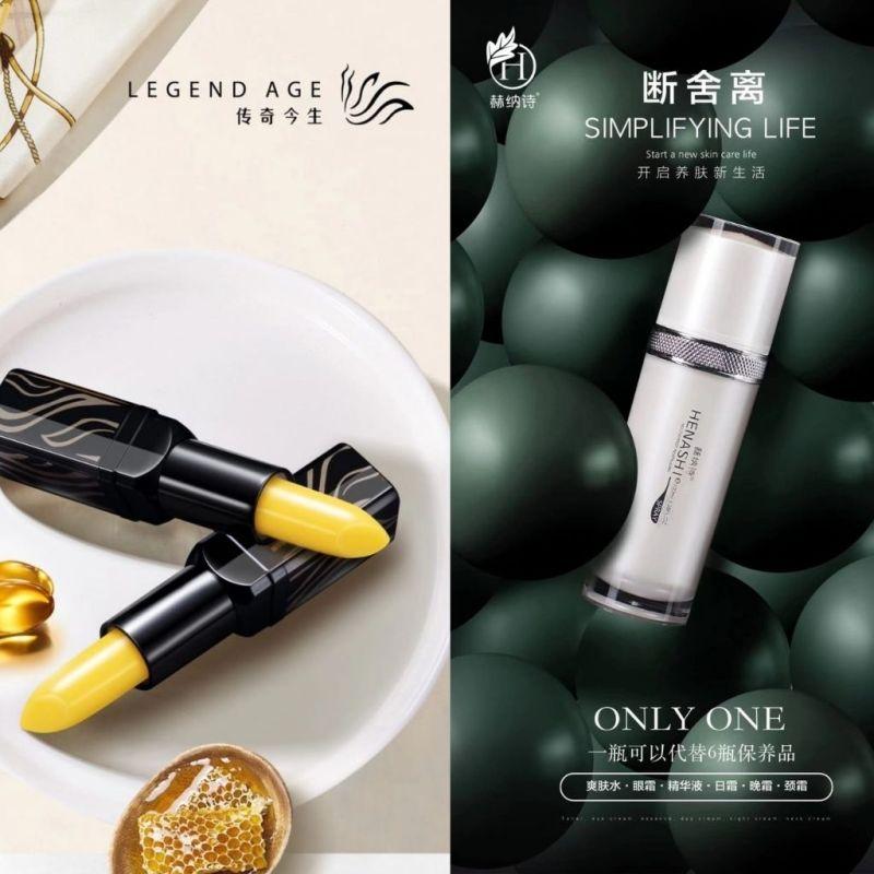 Buy Henashi Legend Age Beauty Bundle   Anti-Aging Multi-Effect Revitalising Mist   Legend Age Lip Singapore