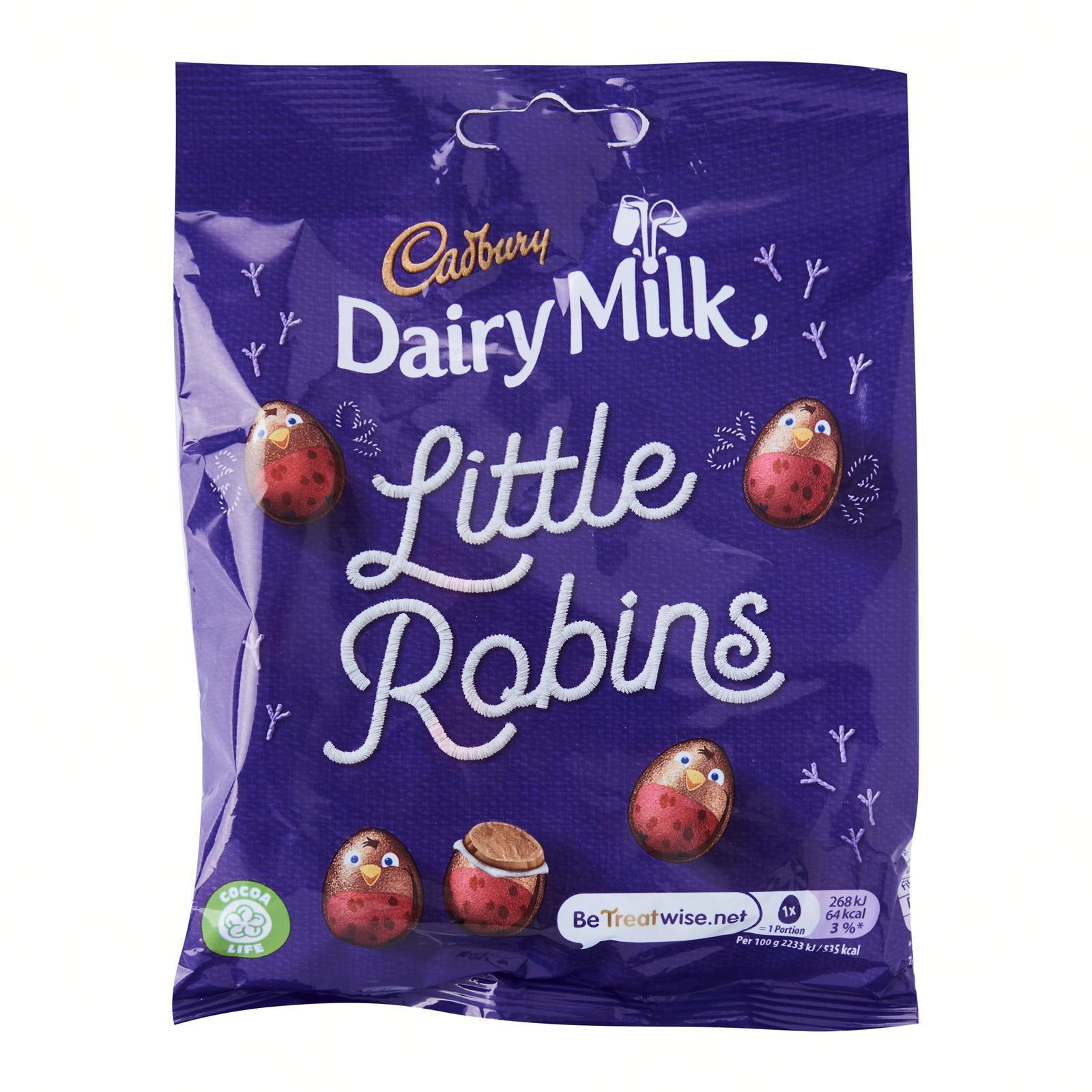 CADBURY Dairy Milk Little Robins Bag - Christmas Special