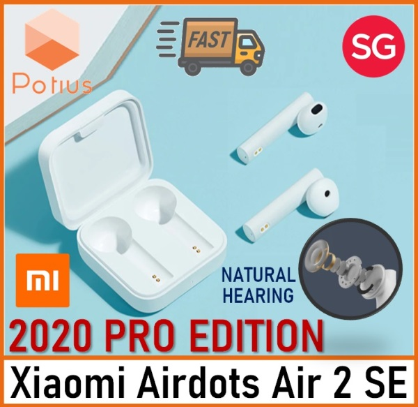 [2020 PRO EDITION] Xiaomi Airdots Air 2 SE | Wireless Bluetooth Earphone TWS AirDots Pro 2 SE | Mi True Earbuds SBC/AAC Synchronous Link | Touch Control Singapore