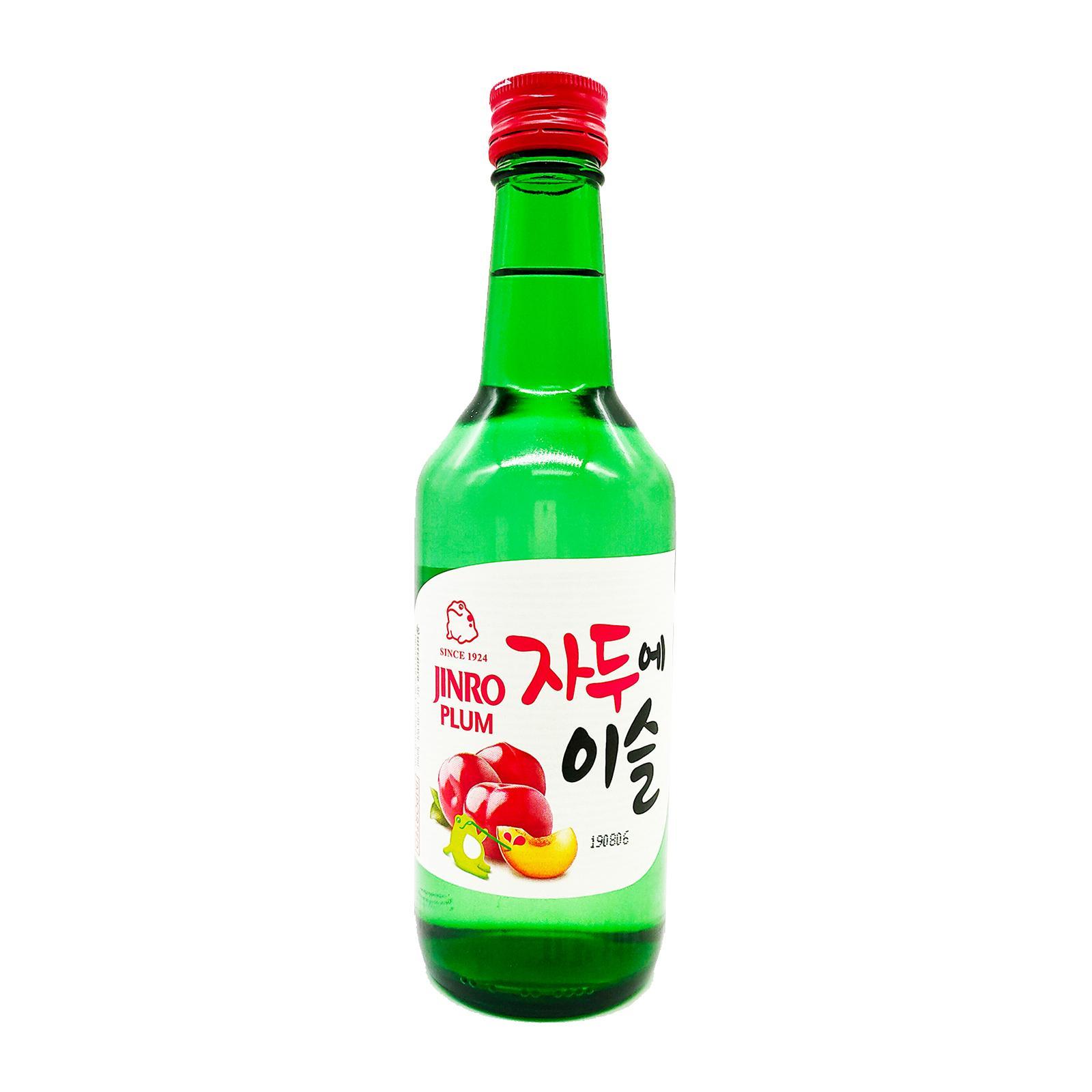 Jinro Plum 360ml Bottle Soju