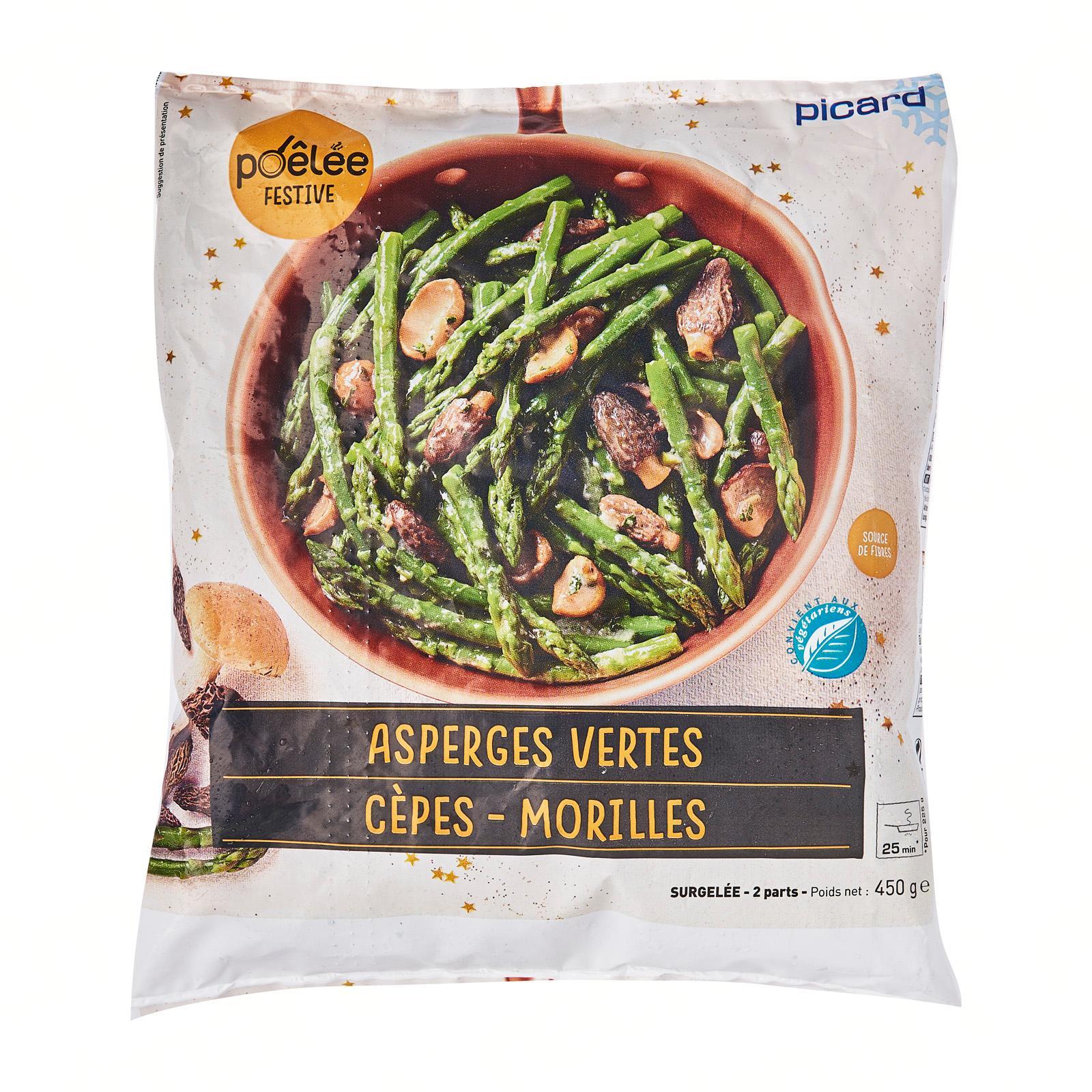 Picard Asparagus Morels and Porcini Mix - Frozen