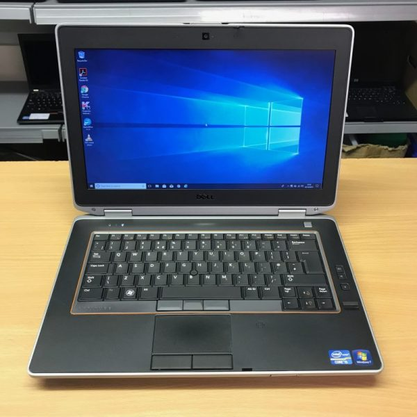 DELL E6420, I5-2520M, 4GB RAM 500GB HDD, PRE INSTALLED WINDOWS 10PRO, WEBCAM, FREE BAG AND CHARGER