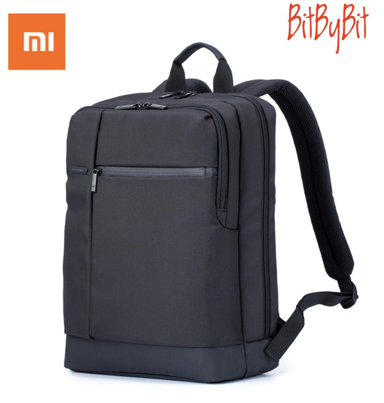 Xiaomi Backpack - Xiaomi 17L Waterproof Business Backpack / School Backpack / Laptop Bag/ Travel Bag with 3 Pockets Large Zippered Compartments Backpack for 15-inch Laptop