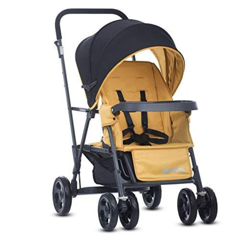 Joovy Caboose Graphite - Double Stand-on Tandem Stroller (Preorder-Will arrive in 7-12 working days) (SG Seller) Singapore