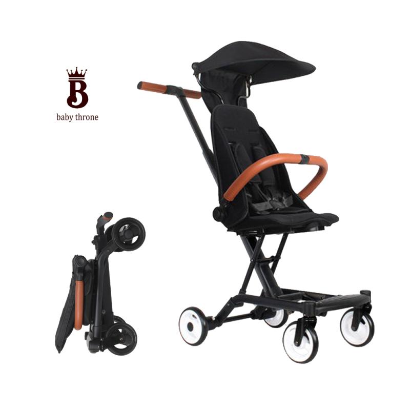 2 in 1 baby pram light weight stroller and newborn baby walker baby carriage Singapore