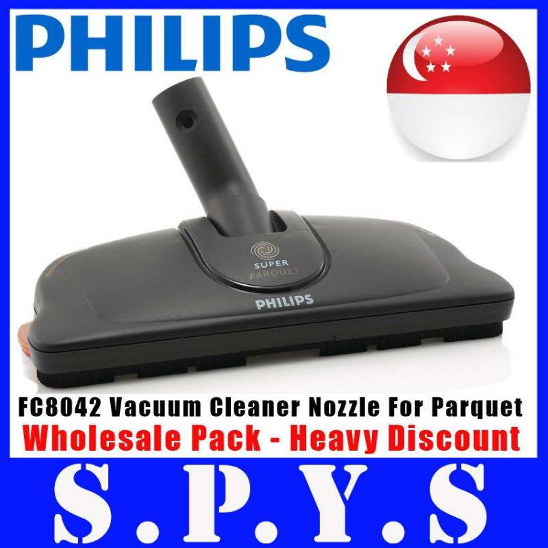 Philips FC8042 Nozzle For all Philips Vacuum Cleaners of 32 to 35 mm diameter. Specially made for hard floors. Consists of 2 adaptors, 1 nozzle and 2 pairs of pads. Wholesale Pack - No Retail Packing. Guaranteed Original Philips Singapore Product. Singapore