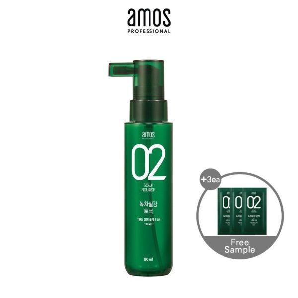 Buy [AMOS PROFESSIONAL] THE GREENTEA TONIC 80ml Singapore