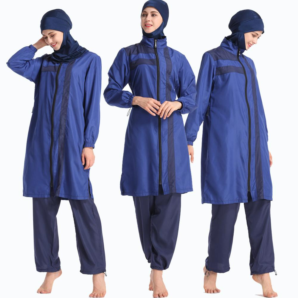 56a5cd6d0a910 Modest Swimwear with Hijab Detachable