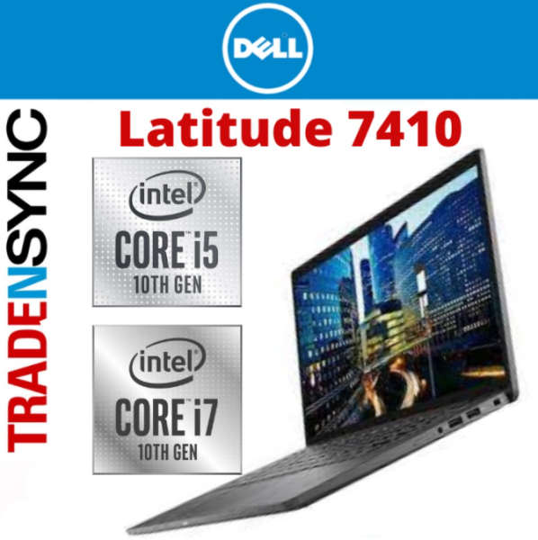 Dell latitude 7410   i5-10210U / i7-10510U   8GB RAM   256GB SSD   Windows 10 Pro   1.33kg   14.0 FHD Display   3Years ProSupport NBD Warranty   Pentium silver in colour