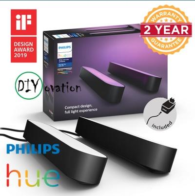 PHILIPS Hue Play Light bar/ Double Pack/ TV Screen Background Color Control/ 16 million color