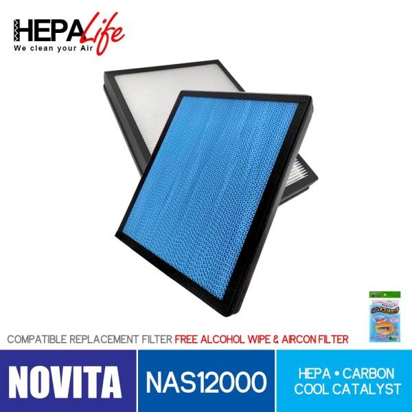 NOVITA NAS12000 Compatible Hepa Filter - Hepalife Singapore