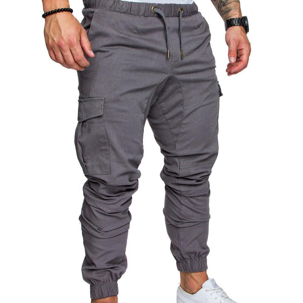 06bdf1acd Men Pants Trousers Sweatpants Sports Sportwear Cargo Straight Leg Fabala  Jogging Casual Jogger