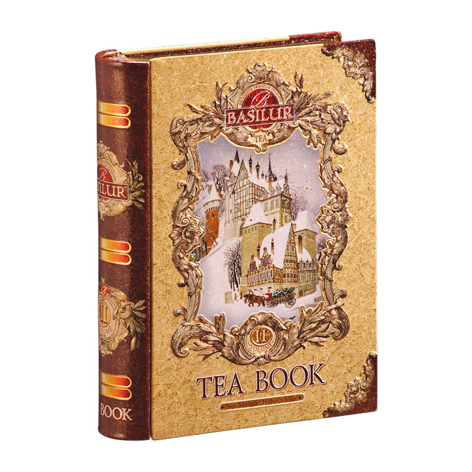 Basilur Tea Book (Christmas Spices Black Tea)