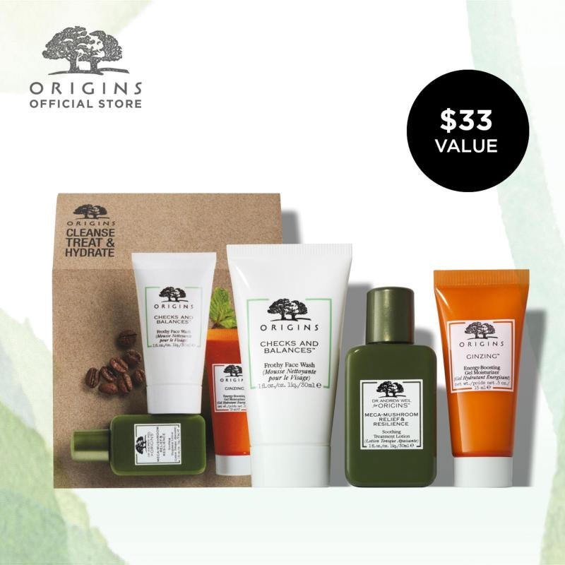 Buy Origins Cleanse Treat & Hydrate Set (Worth $33) Singapore