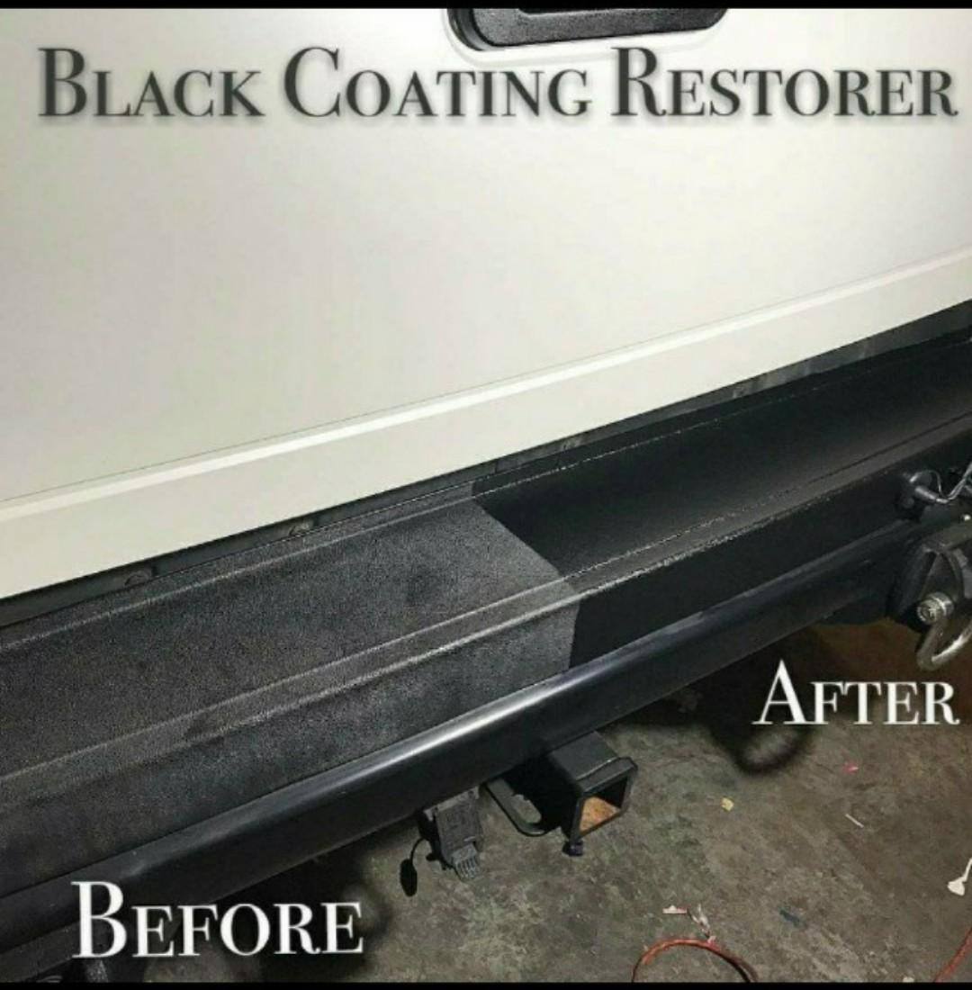 01f4c8112a9a Black Coating Restorer for all Exterior Plastic/ Metal/ Vinyl/ Rubber Trim